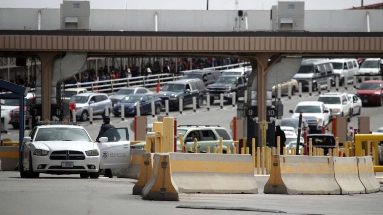 Busy El Paso crossing shut down after protesters threaten to overrun facility, border official says