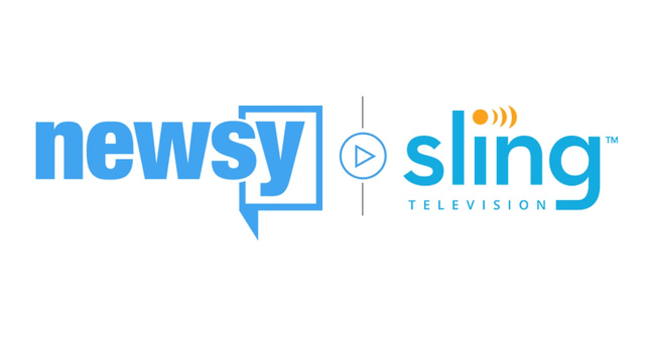 Newsy now available on Sling TV