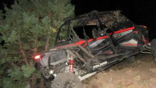 Fatal UTV crash in Uintah County. September 20, 2020