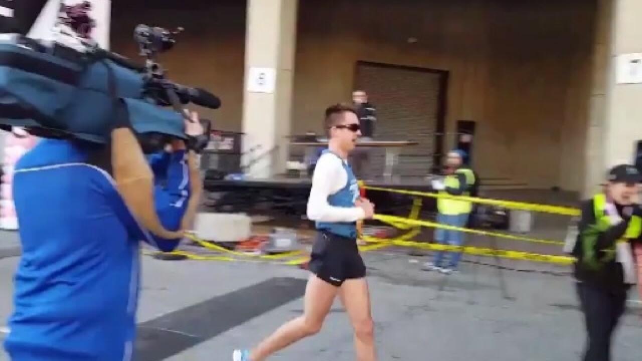 2 runners with Cincy ties win Flying Pig Half