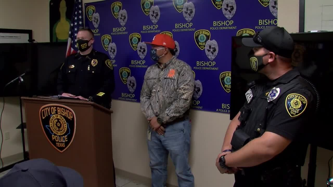 Bishop police joins Nueces County interdiction unit