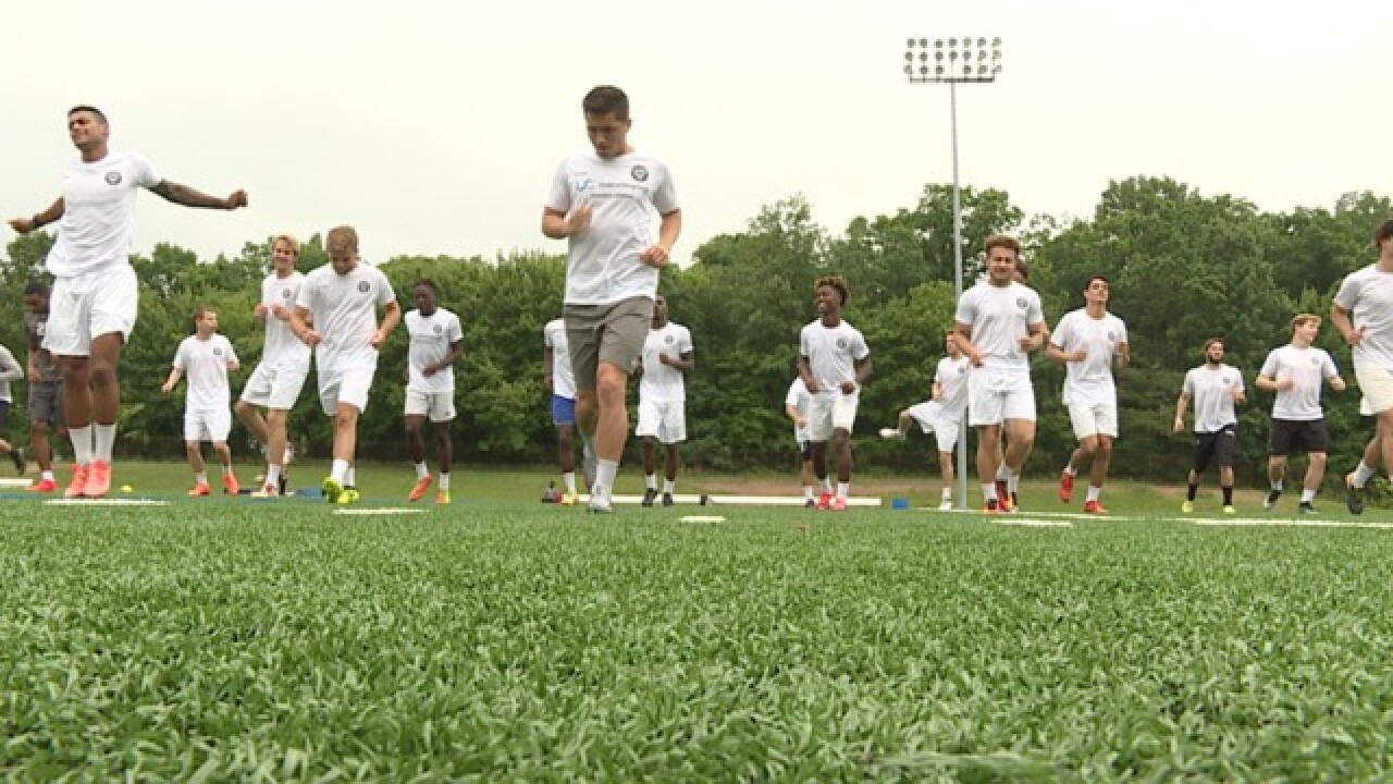 FC Baltimore hits the field for inaugural season
