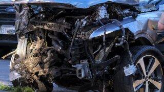 Tiger Woods Vehicle Crash Golf