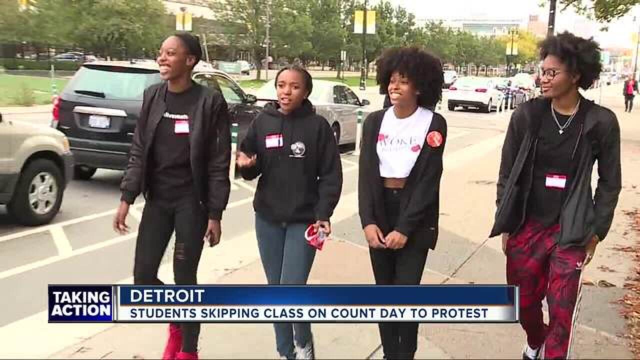 Detroit students skipping class on Count Day