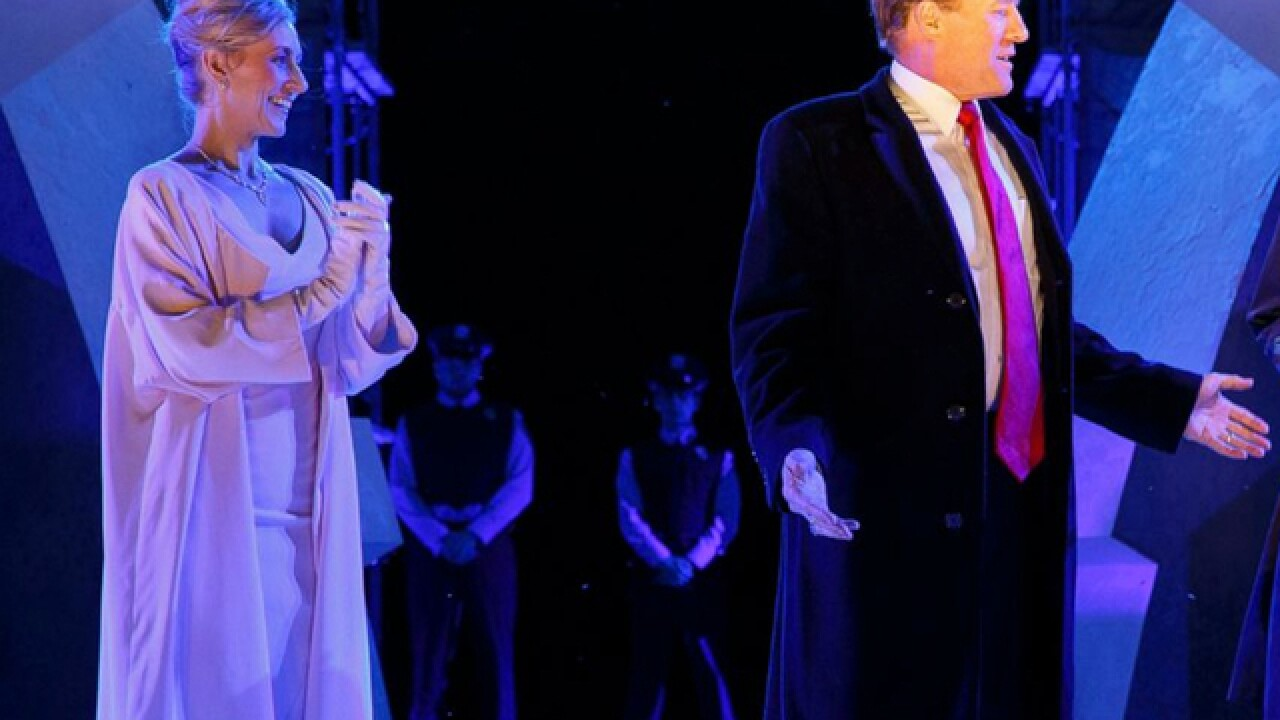 NYC theater refuses to buckle after criticism of its Trump-like 'Julius Caesar'