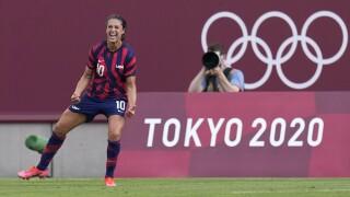Carli Lloyd USWNT Tokyo Olympics Soccer