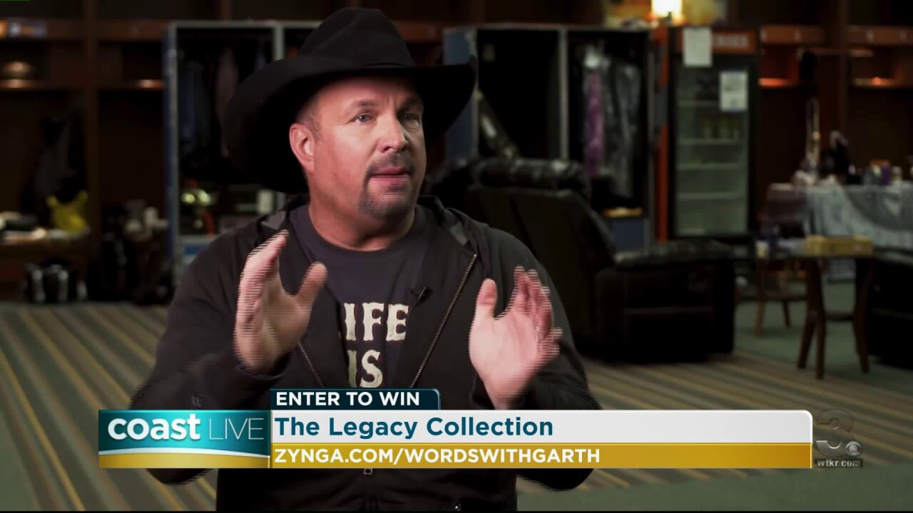 "Garth Brooks shares details on the Words with Friends ""Garth Giving"" contest on Coast Live"