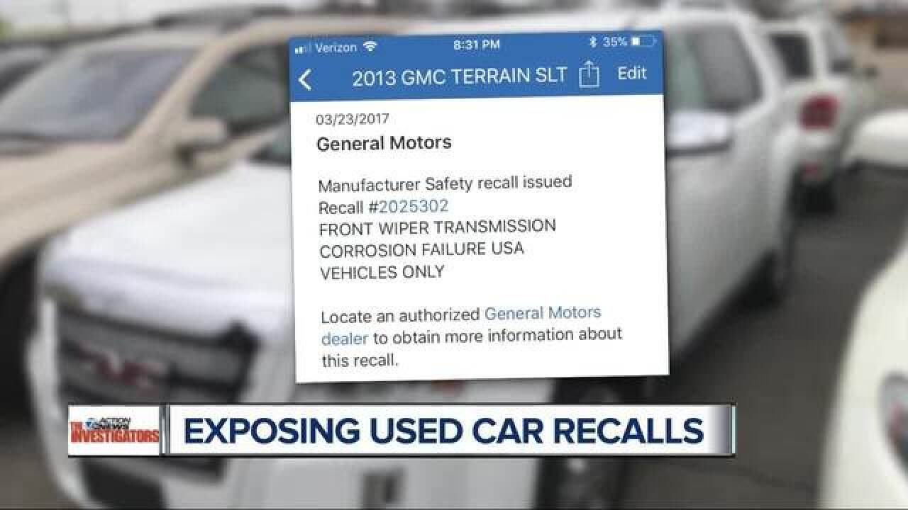 Carfax smartphone app provides recall and other important