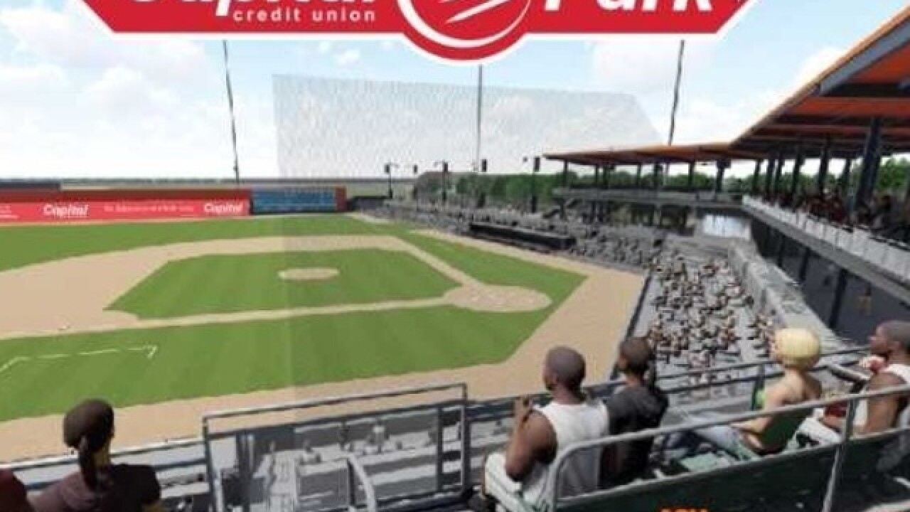 Leaders announce new field design for Bullfrogs