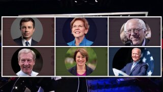 Democratic candidates set for Iowa debate