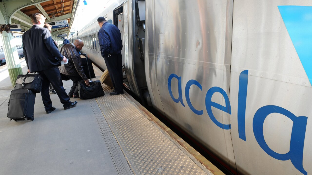 Amtrak announces Acela Nonstop service between Washington and New York