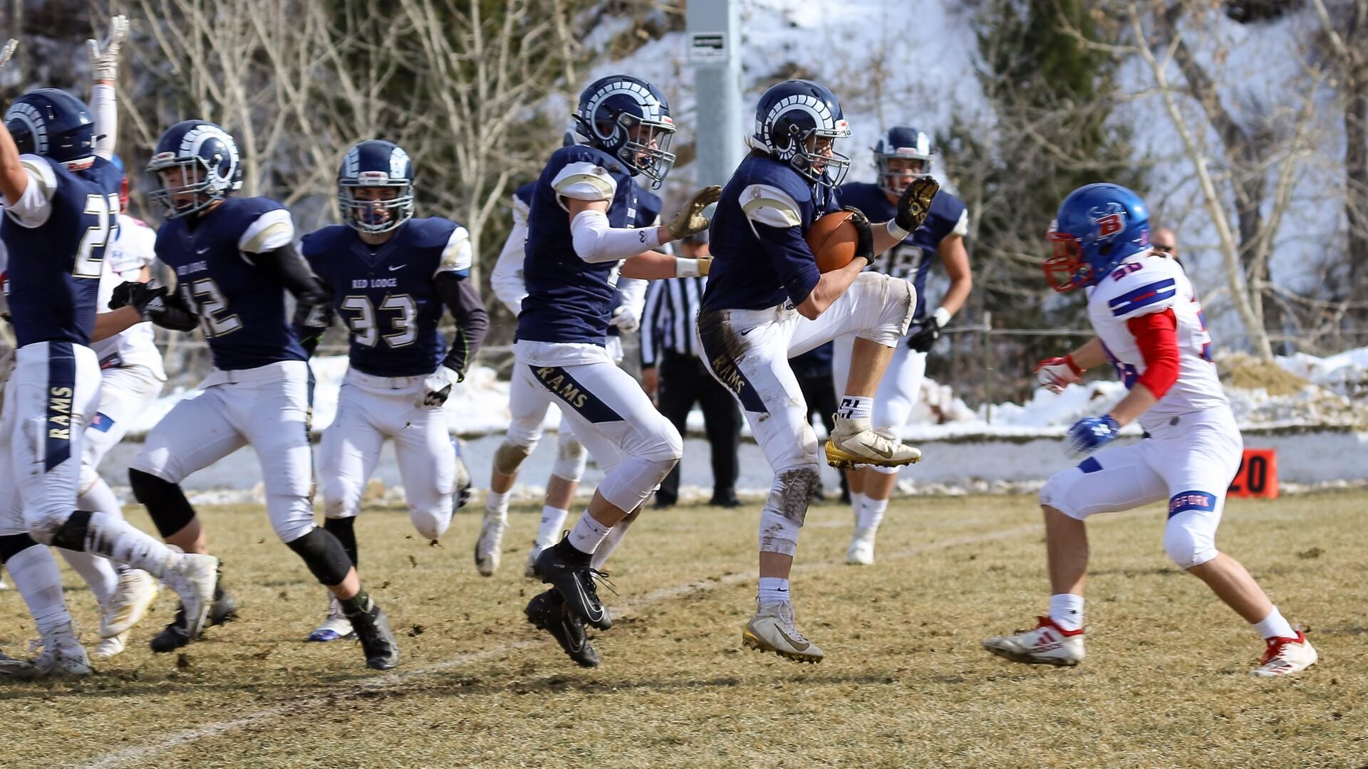 Class B football playoffs -- Bigfork at Red Lodge