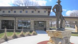 John Wayne Museum   Winterset Iowa