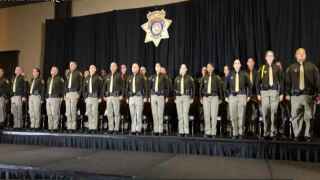 LVMPD corrections officers graduate