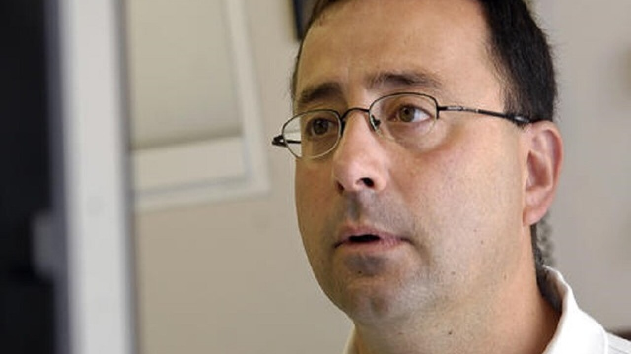 Former USA Gymnastics doctor pleads guilty to criminal sexual conduct