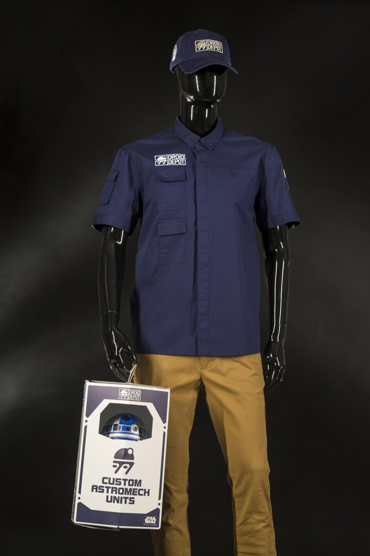Star Wars: Galaxy's Edge Merchandise - Droid Apparel and Astromech Units