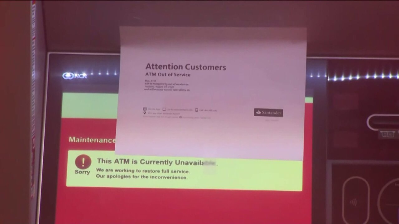 Santander ATM closed in Borough Park, Brooklyn