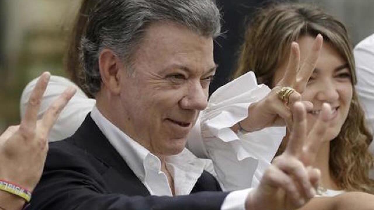 Colombian leader Juan Manuel Santos wins Nobel Peace Prize