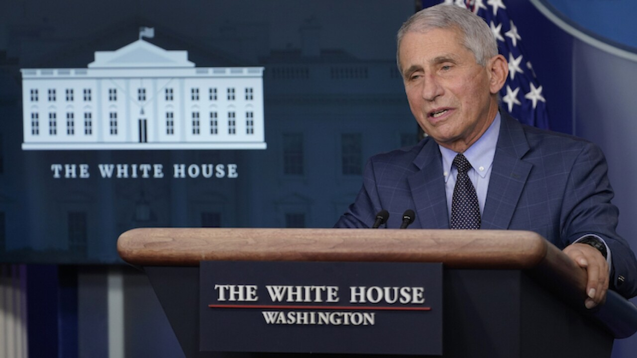 Dr. Anthony Fauci accepted President-elect Joe Biden's job offer 'right on the spot'
