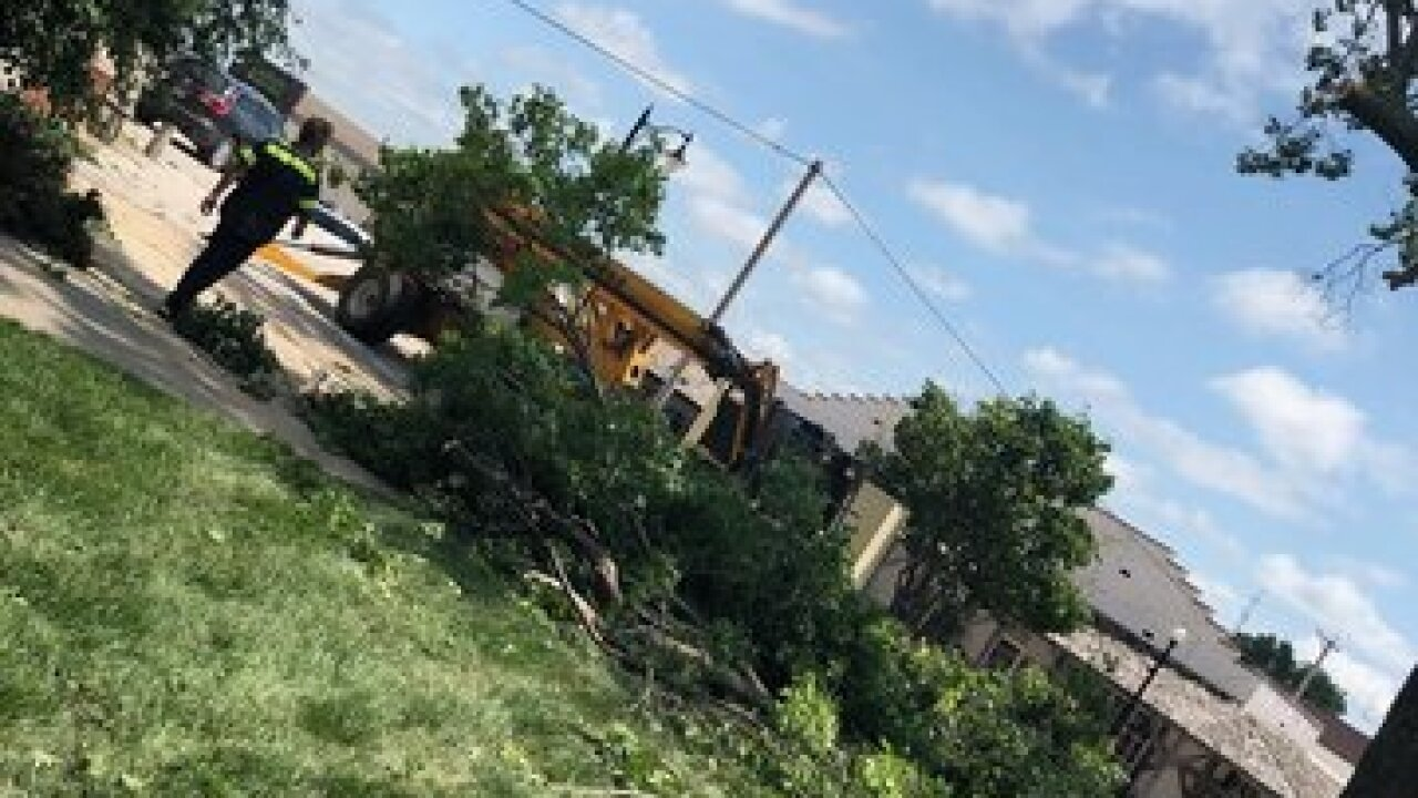 Sidney, Iowa, residents recover from storms
