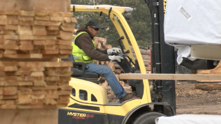 Pandemic still slowing down lumber production