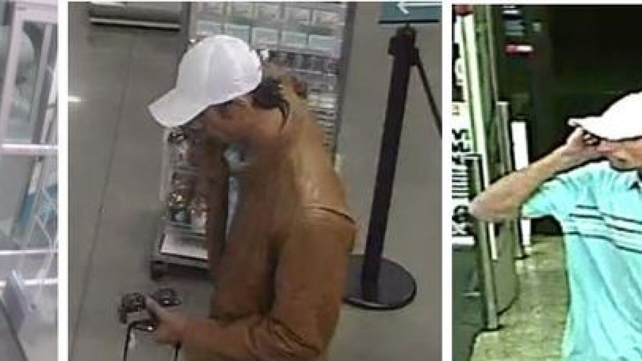 Sheriff's: Man steals credit card from gym-goer