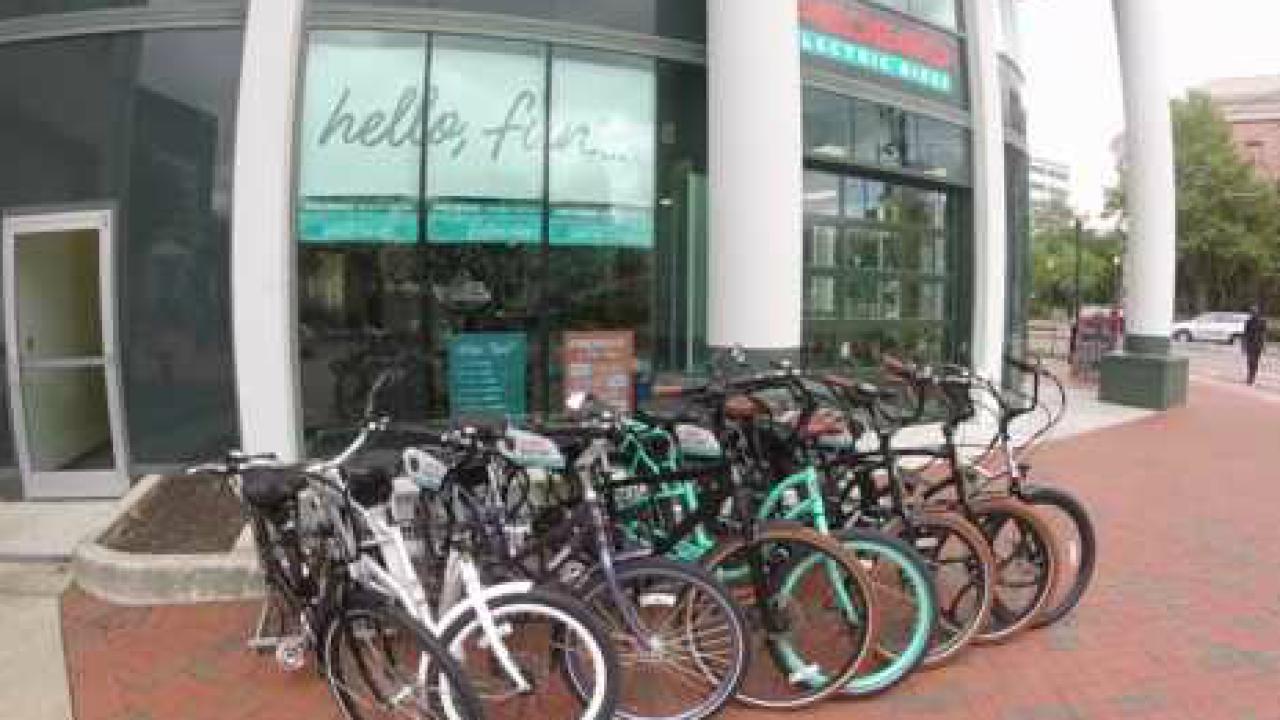 Electric bikes gaining popularity in HamptonRoads