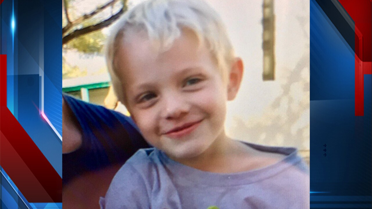 Missing 6 Year Old Boy Found Safe With Grandparents