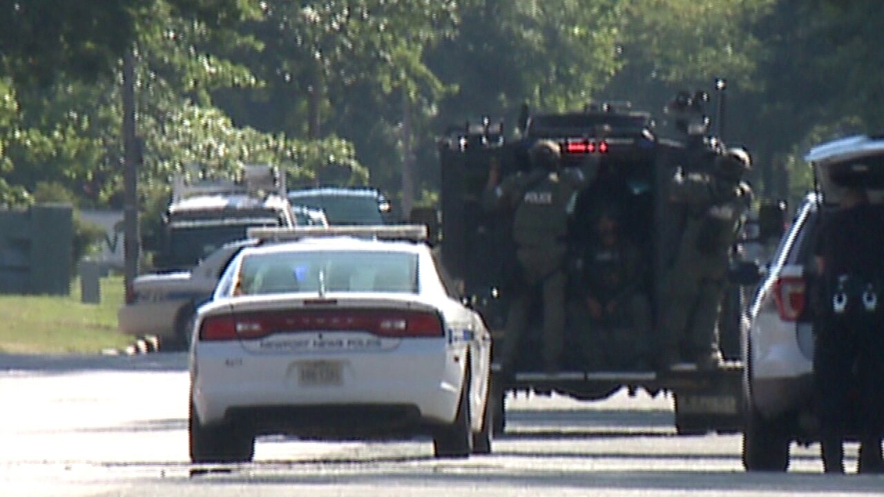 Standoff ends with arrest after Newport News shooting