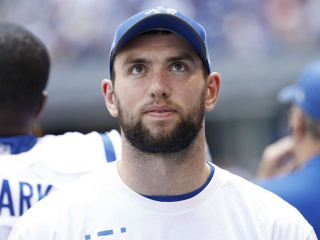 Andrew Luck is in Europe seeking opinions on his shoulder