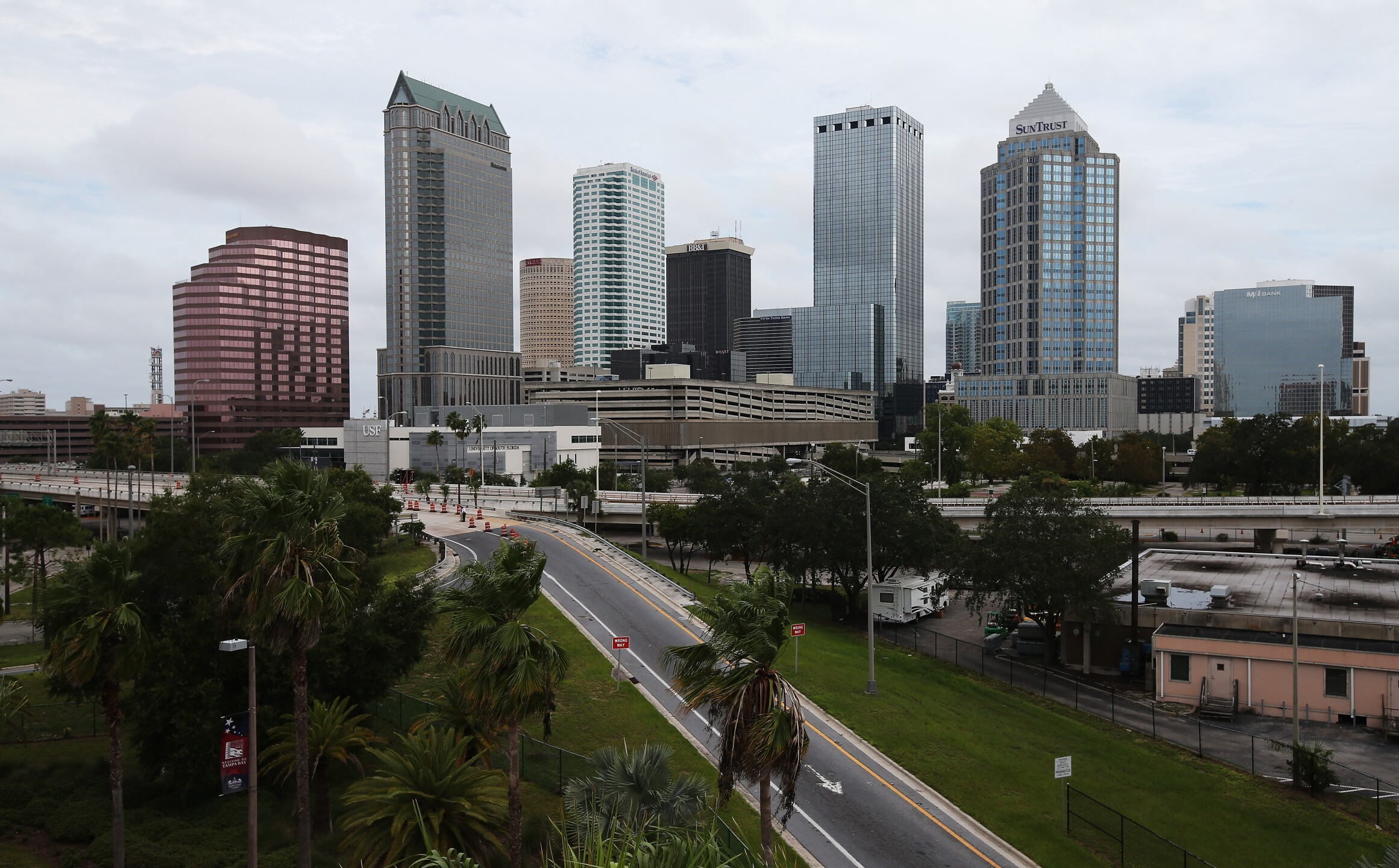 Tampa Bay, FL skyline
