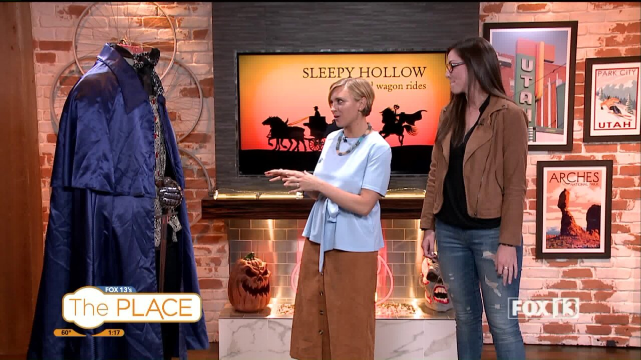 Where you can have a Headless Horseman experience that's not too scary for the kids