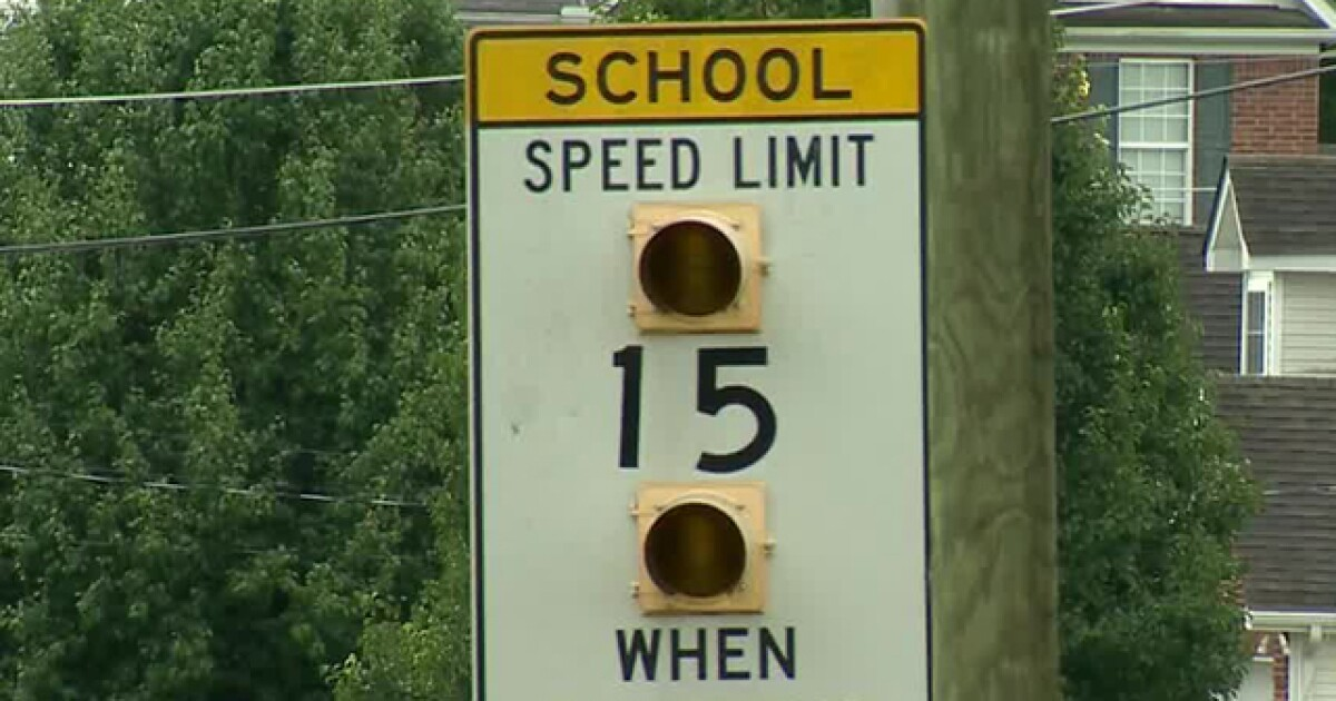 school zone flashers not working in franklin