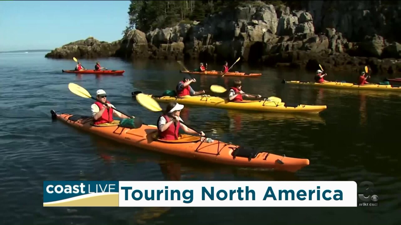 A hot summer travel destination just to the north on Coast Live