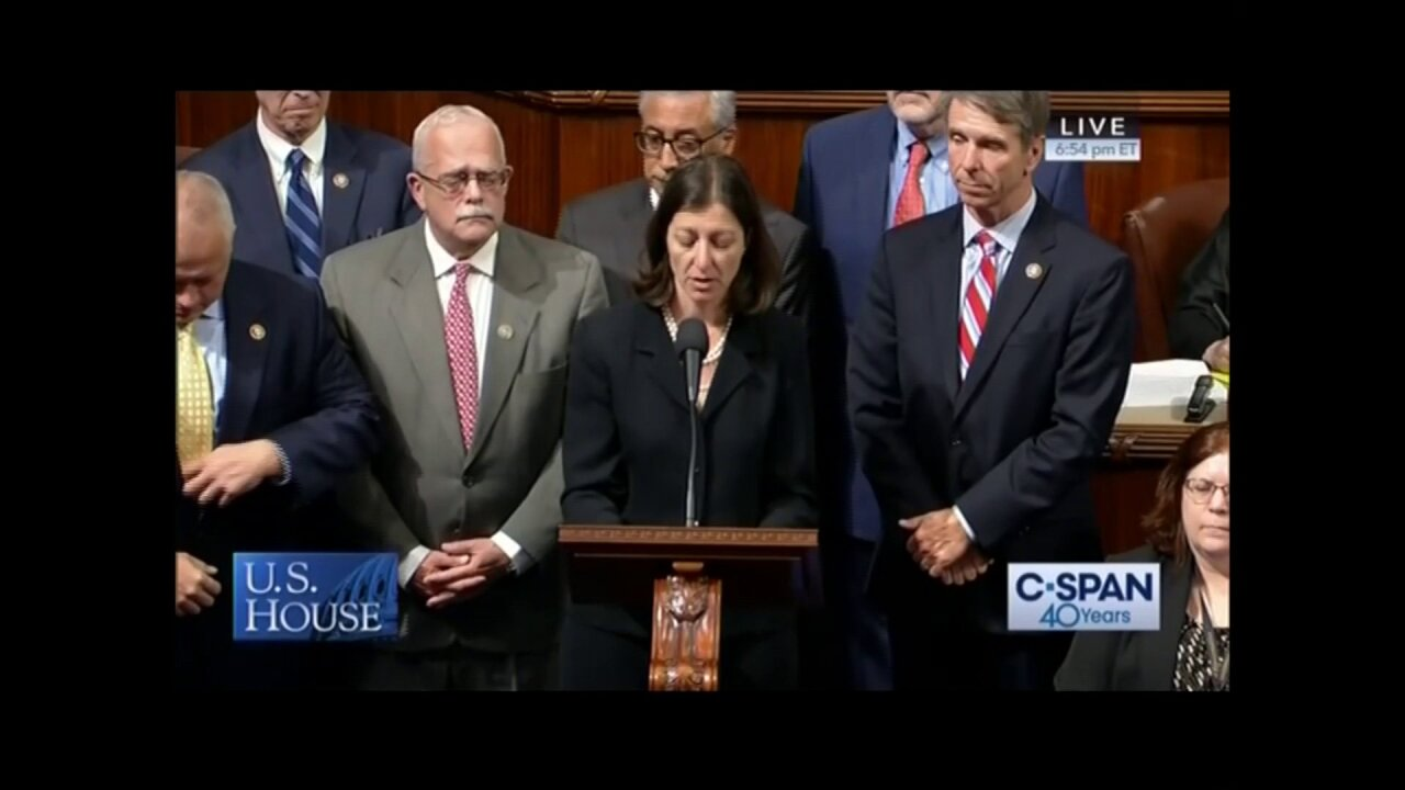 Watch: Rep. Luria leads moment of silence on House Floor for Virginia Beach mass shootingvictims