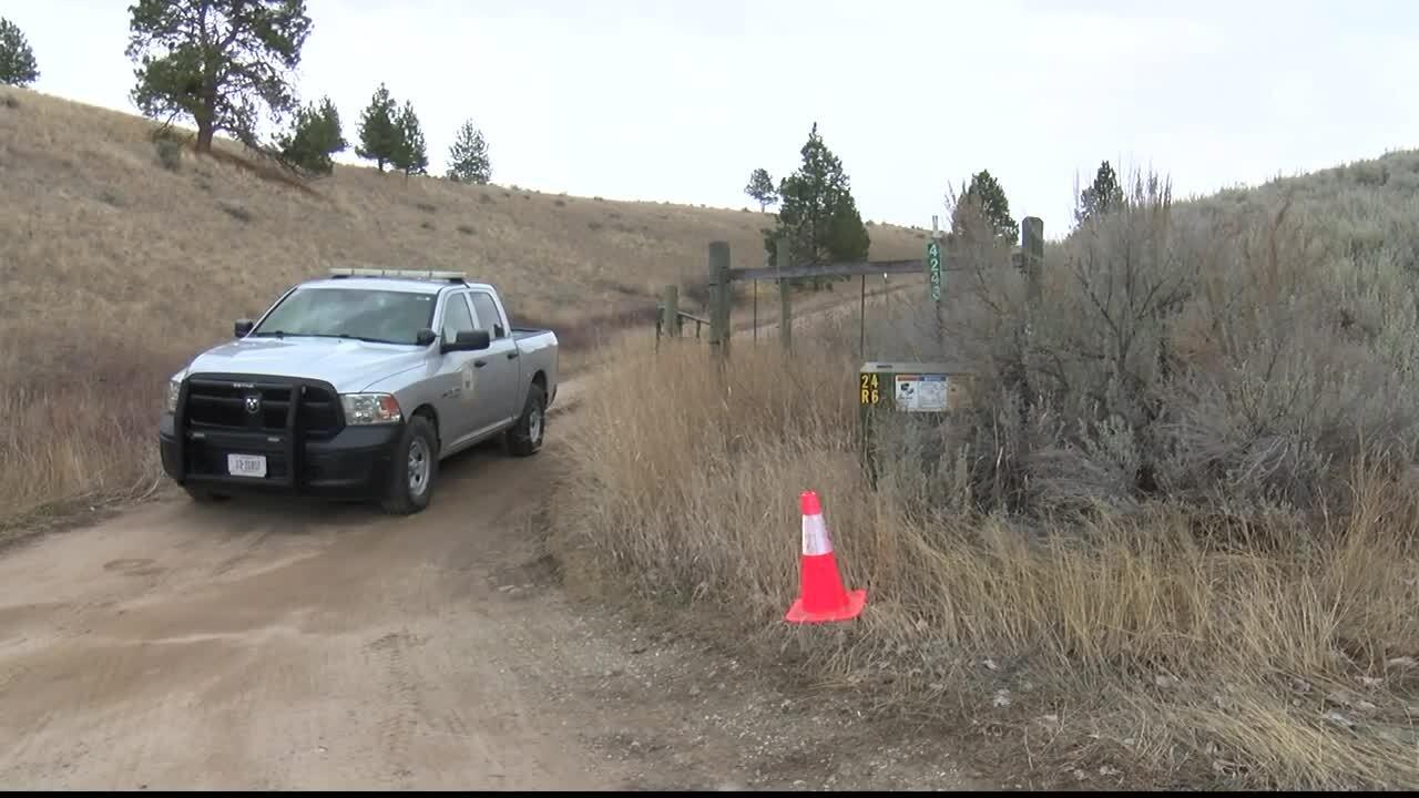 Stevensville double homicide scene