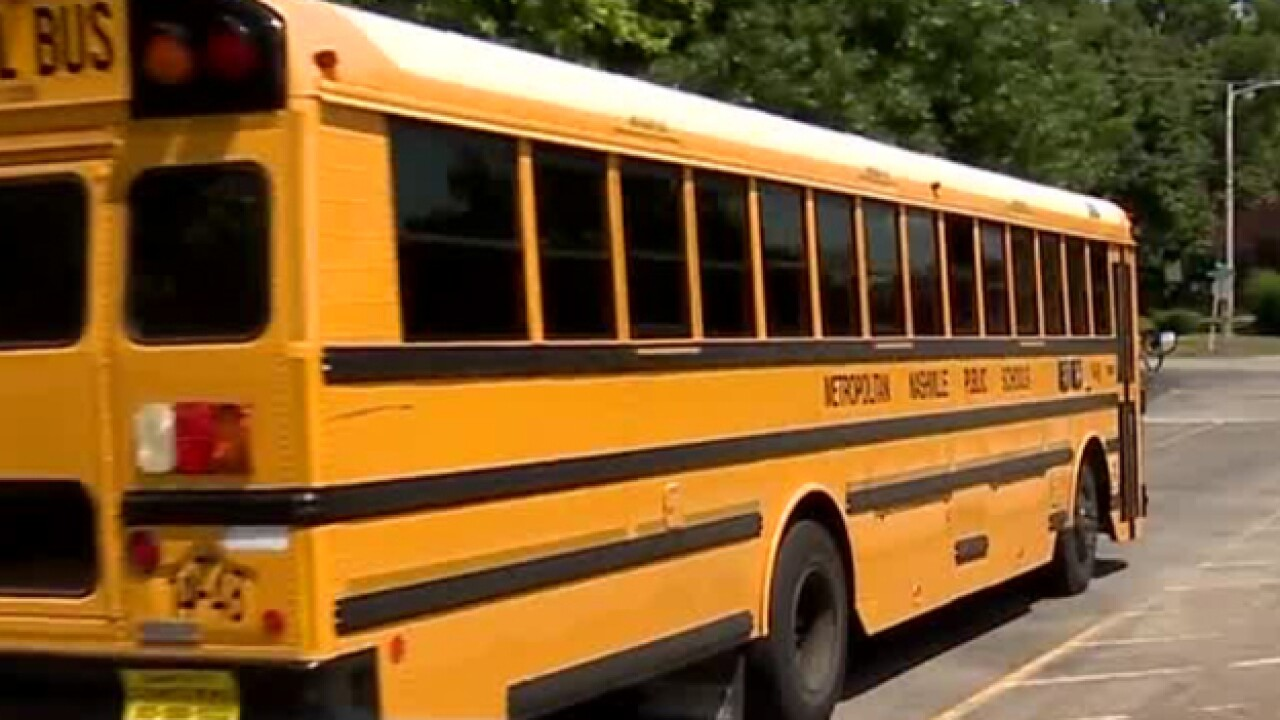 MNPS Bus Drivers Practice Routes Ahead of 1st Day of School