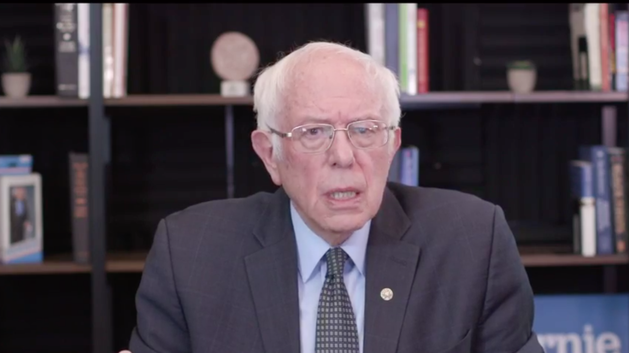 Bernie Sanders proposes $2,000 a month payment to Americans amid coronavirus