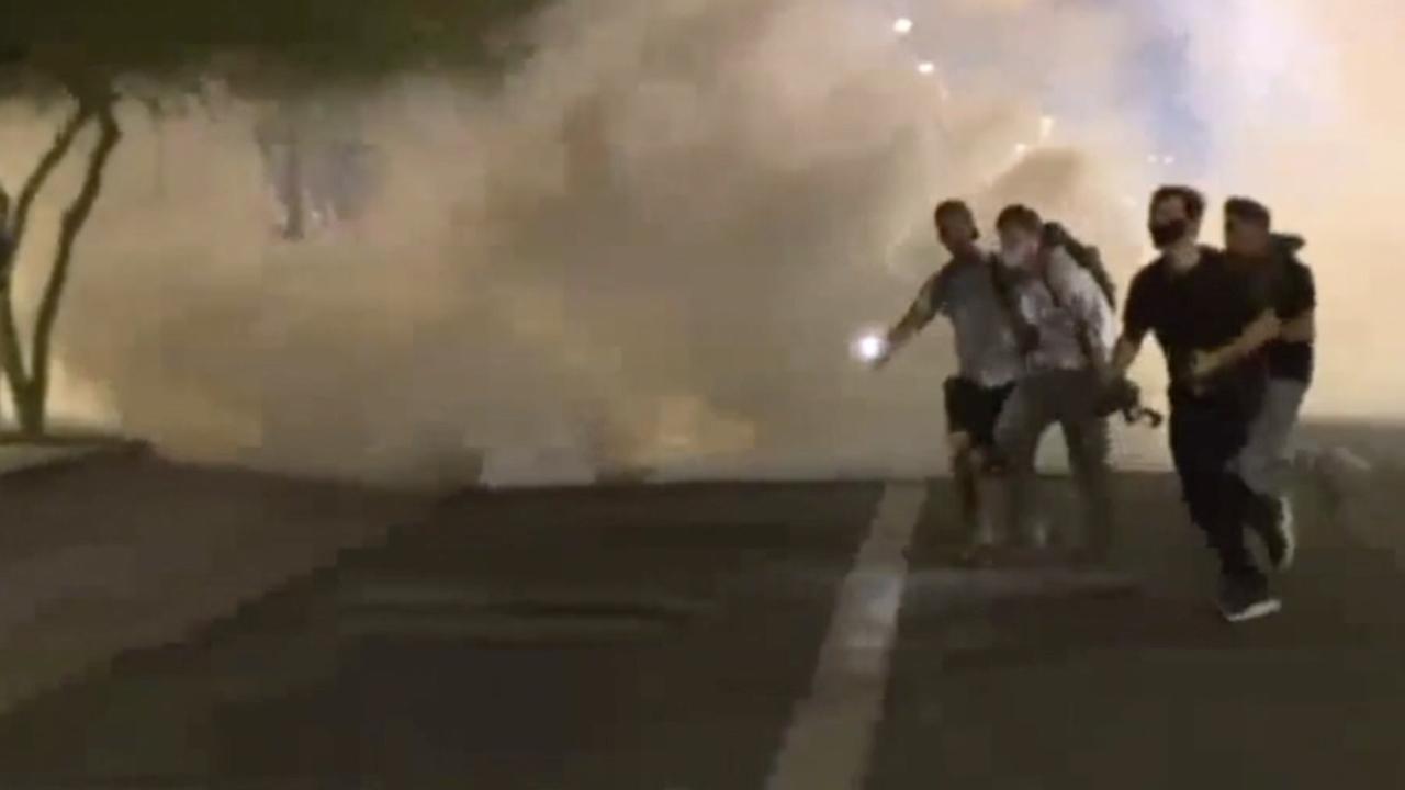 Photog injured during Phoenix protest
