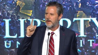 Jerry Falwell Jr. cites his father in Trumpendorsement