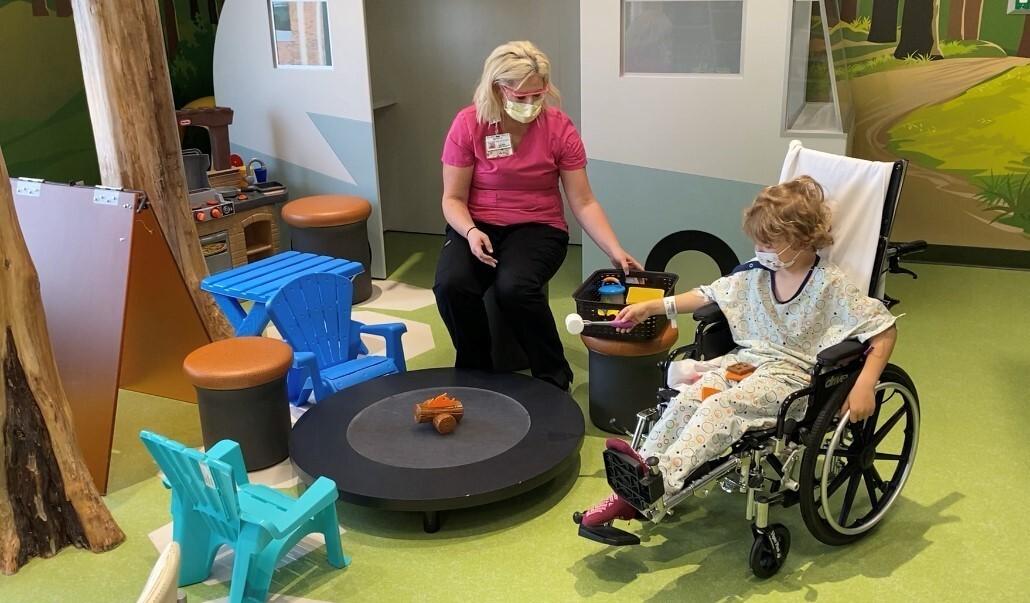 Bronson Children's Hospital Playroom patient.jpg