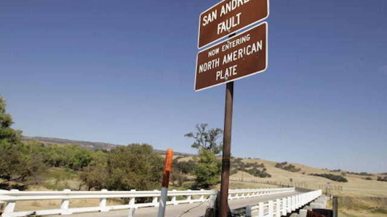 San Andreas study confirms danger of fault