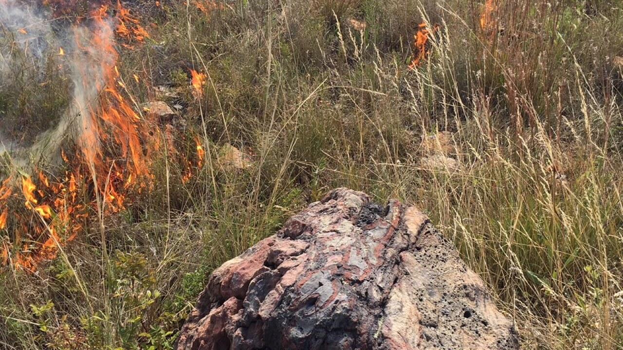 Northern Cheyenne Coal Seam Fire