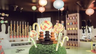 Hotel's Chocolate Speakeasy Is Like A Real-life Candyland