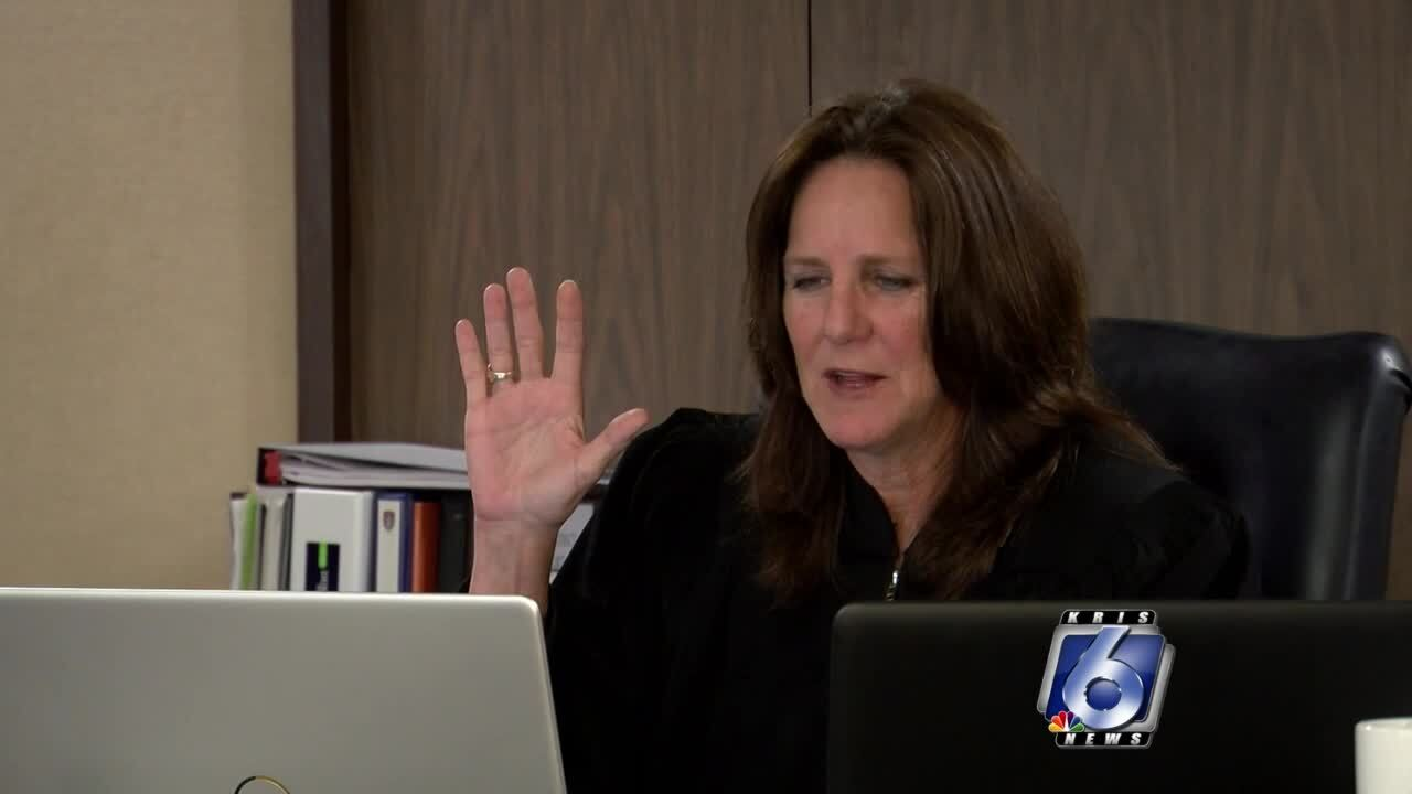 Judge Missy Medary is sworn in for her third term on the Texas Indigent Defense Board