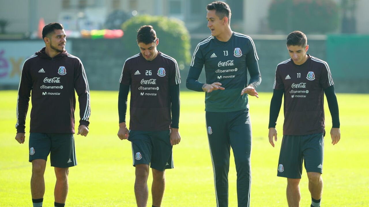 Mexico Training Session