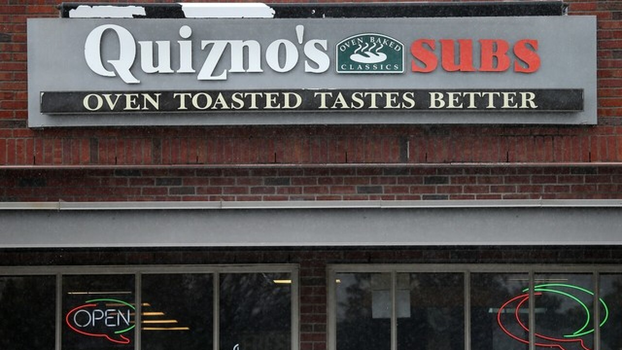 Get a free flatbread gyro from Quiznos on Oct. 25