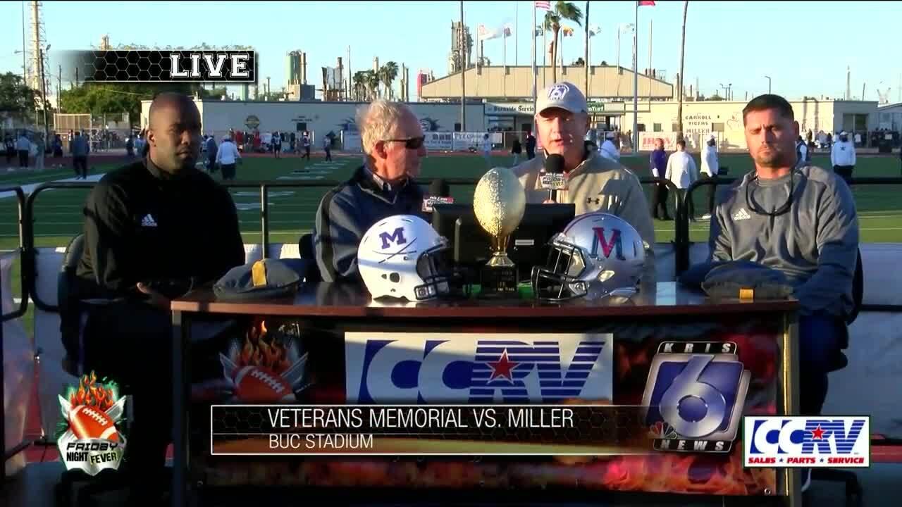 The coaches speak: Miller vs Veterans Memorial
