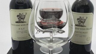 These Wine Glasses Make It Look Like There's A Shark Swimming In Your Wine