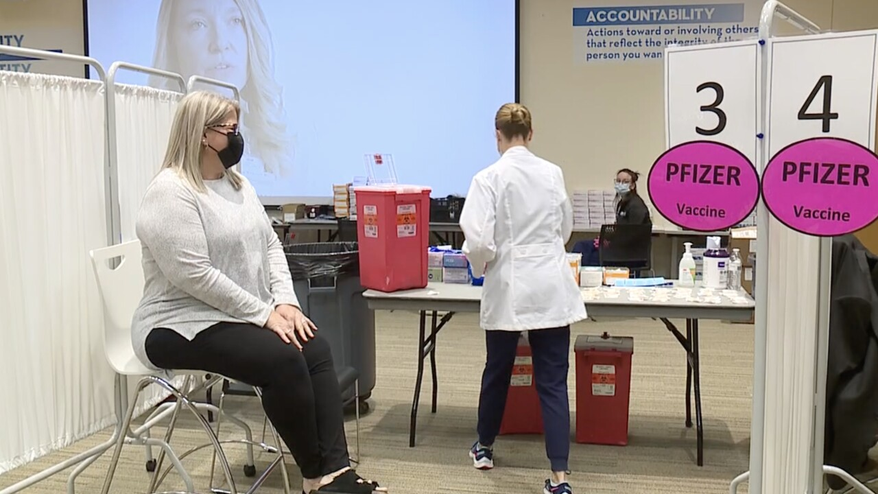 NKY teachers get vaccinated